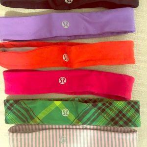 Lululemon Headbands (Collection of 6)